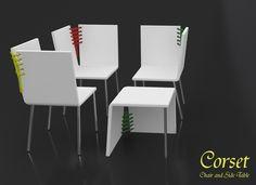 CORSET by Baita Design, via Behance