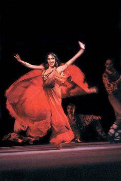 Dança cigana na Vila das Artes em Sousas