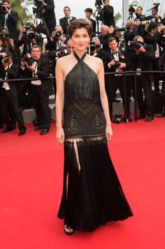 Laetitia Casta en robe Givenchy par Riccardo Tisci