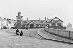 Railway Station, Portrush, Co. Belfast City Centre, Visit Belfast, Belfast Northern Ireland, Old Photographs, Interesting History, Origins, Places To See, Taj Mahal, Irish