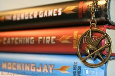 The Hunger Games! I loved these books! I read all three in less than a week and wanted to read them again. Very good books.