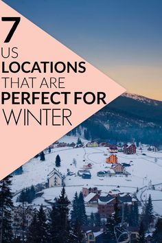 Here are some awesome travel destination for this winter. They're such good US travel destinations and good travel tips! #traveldestinations #ustraveldestinations #traveltips