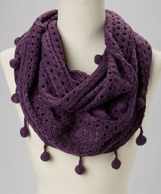 Another great find on #zulily! Eggplant Knit Infinity Scarf #zulilyfinds http://www.zulily.com/invite/kshumska669