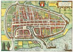 Kaart van Rotterdam 1588 (map)
