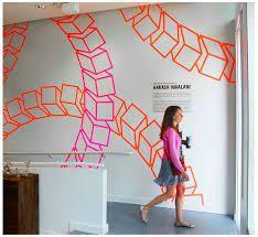 Aakash Nihalani - Google Search Design Tape, Geometric Cat, Perspective Art, Tape Art, Cat Design, Optical Illusions, Art Lessons, Murals, Geometry