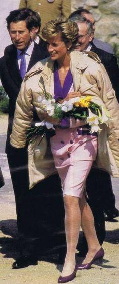 Diana & Charles - Prague * Czechoslovakia _ 08 Mai 1991 ( SUITE )