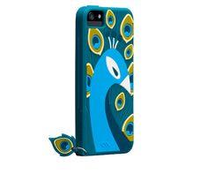 Case-Mate iPhone 5 Creatures Peacock Cases