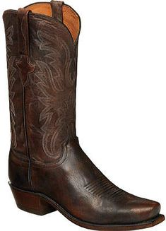 Lucchese Bootmaker Milo 7 Toe Western Boot (Men's) Western Boots, Cowboy Boots, Cowboy Outfits, Pull On Boots, Westerns, Pairs, Man Shop, Mens Fashion, Toe