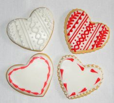 Valentinstag Butter, Sugar, Cookies, Desserts, Velentine Day, Cookie Recipes, Crack Crackers, Tailgate Desserts, Biscuits