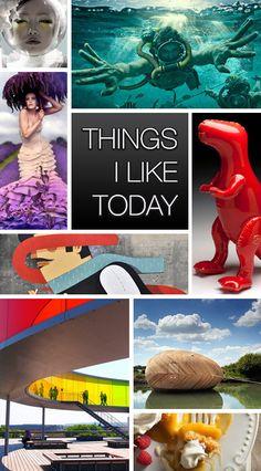 Things I Like Today - Novità e Tendenze su Arte, Architettura, Grafica, Design, Fotografia e tutto ciò che di bello e creativo si trova in rete!
