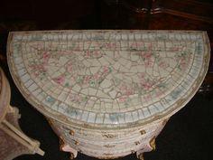 Beautiful Broken China Mosaic French Girls Bedroom Set | eBay