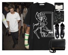 """""""leaving the club with Louis and Lottie"""" by ilaria-1999 on Polyvore featuring moda, Givenchy, Zara, Topshop e NARS Cosmetics"""