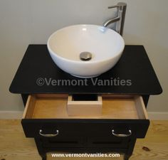 we restore refinish and upcycle quality dressers into vessel sink vanities www