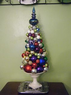 christmas ball tree....