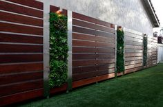 Vertical Gardening contemporary landscape