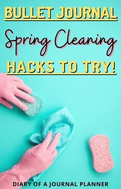 Make spring cleaning easy with this simple bullet journal spring cleaning spread! #cleaninghacks #springcleaning #bulletjournalspreads Bullet Journal Layout Templates, Bullet Journal Contents, Bullet Journal Printables, Bullet Journals, Day Planner Organization, Organization Bullet Journal, Bullet Journal How To Start A, Day Planners, Bullet Journal Inspiration
