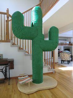 Custom Made Cactus Cat Tree Etsy   $800.00