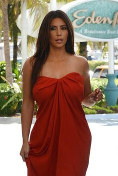 Kim Kardashion Without Bra Womens9 Red Beach Dresseskenya