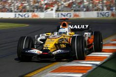 Alonso in the Renault '08