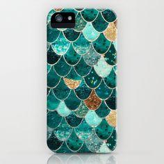 REALLY MERMAID iPhone & iPod Case by Monika Strigel - $35.00