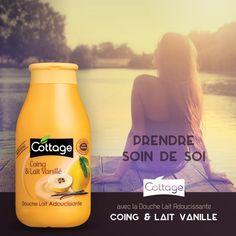 Douche Lait Adoucissante - Coing & Lait Vanillé - Cottage
