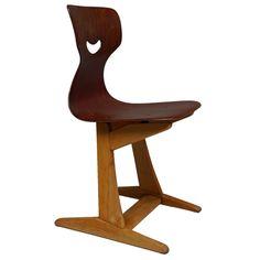 1000 images about vintage chairs for children chaises d - Chaise hauteur d assise 65 cm ...