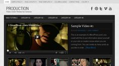 Production WordPress Video Blogging Theme