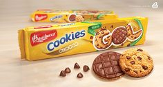 Mockup Bauducco Cookies by Ilustractor, via Behance