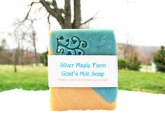 Homemade Fresh Goat's Milk Soap, Seaside,  4-4.3 oz Cold Process