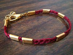 Luck No.10 Bracelet. by danggoods, via Etsy.