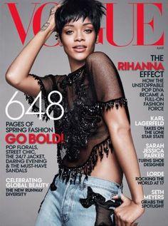 #Rihanna: US-Vogue-Cover und die Mode-Mitarbeiter des Popstars | #Fashion Insider Magazin #Vogue