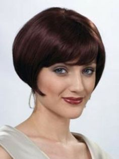 Simple Short Hairstyles for Oval Faces