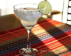If you're celebrating Cinco De Mayo with cocktails, here's a lighter margarita recipe. It seems like everyone on TV is making a Skinny Cookbook these days. The Real Housewives of New Jersey, Teresa Giudice just came out with a new cookbook called Skinny Italian. Bethanny Frankel, from the Real Housewives of New York has a cookbook called the Skinnygirl Dish and is the creator of the much hyped Skinnygirl Maragarita.  I'm not sure how many points a regular margarita is but if this is consi...