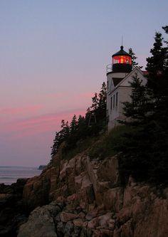 ✮ Bass Harbor Lighthouse  - Acadia, Maine