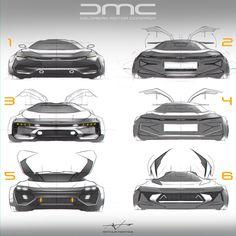 DMC sketches by Arthur Martins