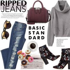 Style This Trend: Ripped Jeans