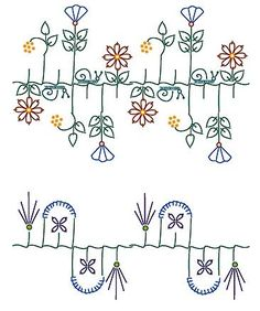 Stitch combinations for crazy quilting - this link has pages and pages of very clever stitches for crazy quits (or any other application!)