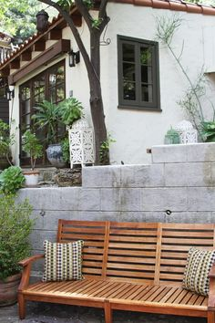 """Jonah & Jodie's """"Enchanted Cottage"""" in Laurel Canyon...very pretty"""