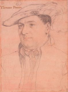Sir Thomas Parry (c.1515-1560) by Hans Holbein the Younger
