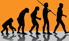 Were we happier in the Stone Age? Yuval Noah Harari, Sapiens: A Brief History of Humankind Evolution Science, Human Evolution, Richard Branson, Evolutionary Biology, Book Background, Orange Background, Graffiti Drawing, Changing Jobs, The New Normal