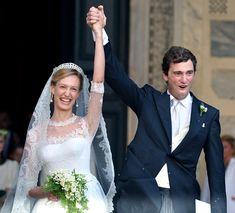 Prince Amédéo et Elisabetta Maria Rosboch von Wolkenstein le 5 juillet 2014