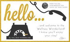 hello & welcome to wonderland!