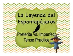 "This product includes 4 scaffolded activities to  accompany the viewing of the short film ""La Leyenda del Espantapjaros"" (available on YouTube, link provided).  Students will begin by watching the short animated film and answering some basic questions in Spanish about what they see happening."