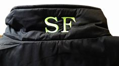 Add a Second Monogram to Garment Hood Back of by personalthreads