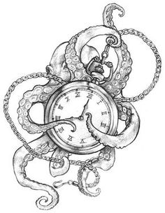 I would change the pocket watch for an anchor
