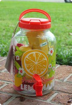 By God's Southern Grace: Welcome to the Neighborhood Gift....lemonade gift