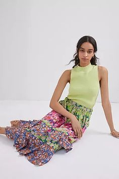 New Clothing for Women | Anthropologie New Outfits, Cool Outfits, Fashion Line, Cute Skirts, Summer Looks, Australian Artists, Midi Skirt, Anthropologie, Fair Trade