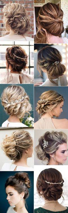 updo wedding hairstyles for 2018 trends #bridalfashion #weddinghairstyle #updohairstyle #bridalhairstyles #weddingideas
