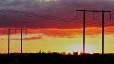 Co. Clare: Ennis sunset. Irish Landscape, My Photos, Celestial, Sunset, Outdoor, Sunsets, Outdoors, Outdoor Life, Garden