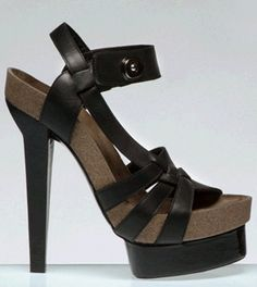 balenciaga cork platform sandals. probably couldn't walk in them but they are so pretty